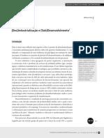Desindustrialização e Subdesenvolvimento - Wilson Cano.pdf