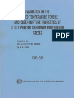 DS58 - (1975) Evaluation of the Elevated Temperature Tensile and Creep-Rupture Properties of 3 to 9 Percent Chromium-Molybdenum Steels.pdf