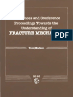 DS63 - (1985) References and Conference Proceedings Towards the Understanding of Fracture Mechanics