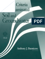 DS64 - (1995) Cleanup Criteria for Contaminated Soil and Groundwater