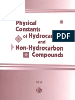 DS4A - (1971) Physical Constants of Hydrocarbons C1 to C10