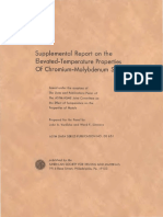 DS5S2 - (1969) an Evaluation of the Yield, Tensilde, Creep and Rupture Strengths of Wrought 304, 316, 321, And 347 Stainless Steels at Elevated Temperatures