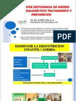 Anemia Trasparencias Essalud Dr. Vela
