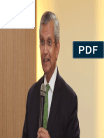 Prof. Prajapati Trivedi addressing Permanent Secretaries of Bangladesh