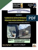 Módulo 6 - PERFORACIÓN Y VOLADURA EN MINERIA A TAJO ABIERTO METALICA  (20-May-17).pdf
