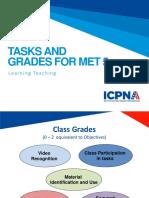 MET5 Tasks Grades