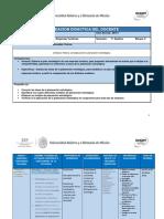 Planeación Didáctica U 2 APET 2019