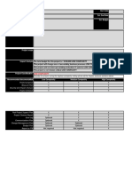 Project Proposal and Planning Excel Template