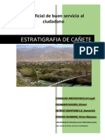 Estratigrafia de Cañete