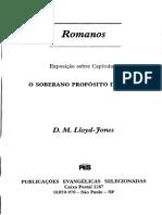 Romanos 09 - O Soberano Proposito de Deus - Martyn Lloyd-Jones