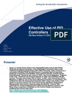 Effective Use of PID Controllers
