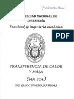 Transferencia de Calor y Masa - Examenes UNI