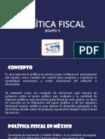 Polìtica Fiscal