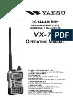Vx 7r Manual