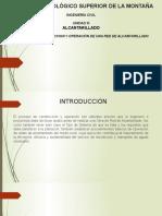 Construcción y Operación de UNA RED de DRENAJE