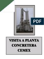 Reporte de Visita Cemex