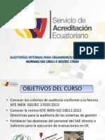Curso Auditorias Internas Para 17020 Con 19011