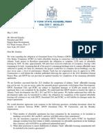 Legislators Letter to Zemsky, May 3, 2019