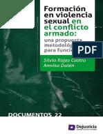 Formacion en Violencia Sexual en El Conflicto Armado