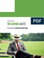 Mans Guide to Wearing Hats