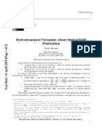 Hydrodynamical Viewpoint