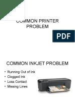 Common Printer Problem