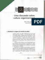315747270 Fleury Sampaio Uma Discussao Sobre a Cultura Organizacional