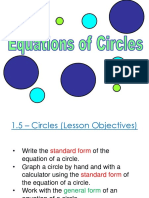 1.5 - equations of circles.ppt