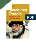 Ford Coppola Francis - El Cine en Vivo Y Sus Tecnicas