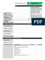 IC Project Charter Template 8556