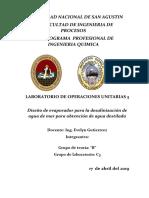 Desalinizacion de Agua de Mar .2