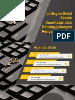 Arsitektur Jaringan Balai Teknik Kesehatan Dan Penanggulangan Penyakit (BTLKP) Manado