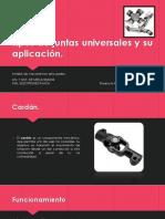 Tipos de Juntas Universales y Su Aplicación