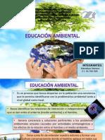 Presentación de la educación ambiental