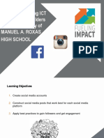SUMMER CAMPSocial Media 101 Workshop Slides