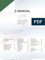 Universal Online Manual for Samsung TVs