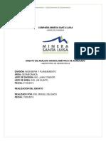Informe de Ensayo de Anàlisis Granulomètrico