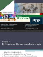 Sesión 7 El Helenismo