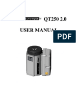 Usermanual QT250 2.0