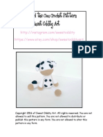 Cow Free Pattern