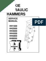Service Manual Huskie HH1500 8000