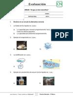 2Basico - Evaluacion N6 Ciencias - Clase 1 Semana 28 - 2S
