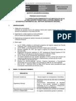 PROCESO CAS N° 010-2018