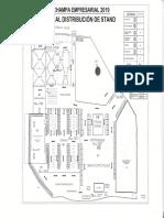 Mapa de la feria Expo Champa 2019
