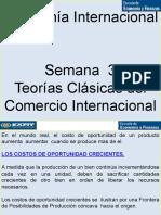 Teorías Clásicas del Comercio Internacional - Semana 3