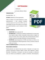 CEFTRIAXONA, ciprofloxacino y raitidina.docx