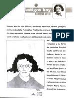 Comic Simone Weill