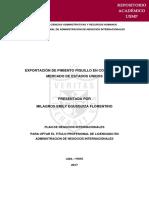 Plan de Exportacion de Pimientos Ajii