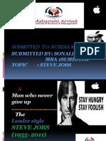 Steve Jobs Ppt