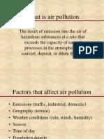 Air Pollution Class